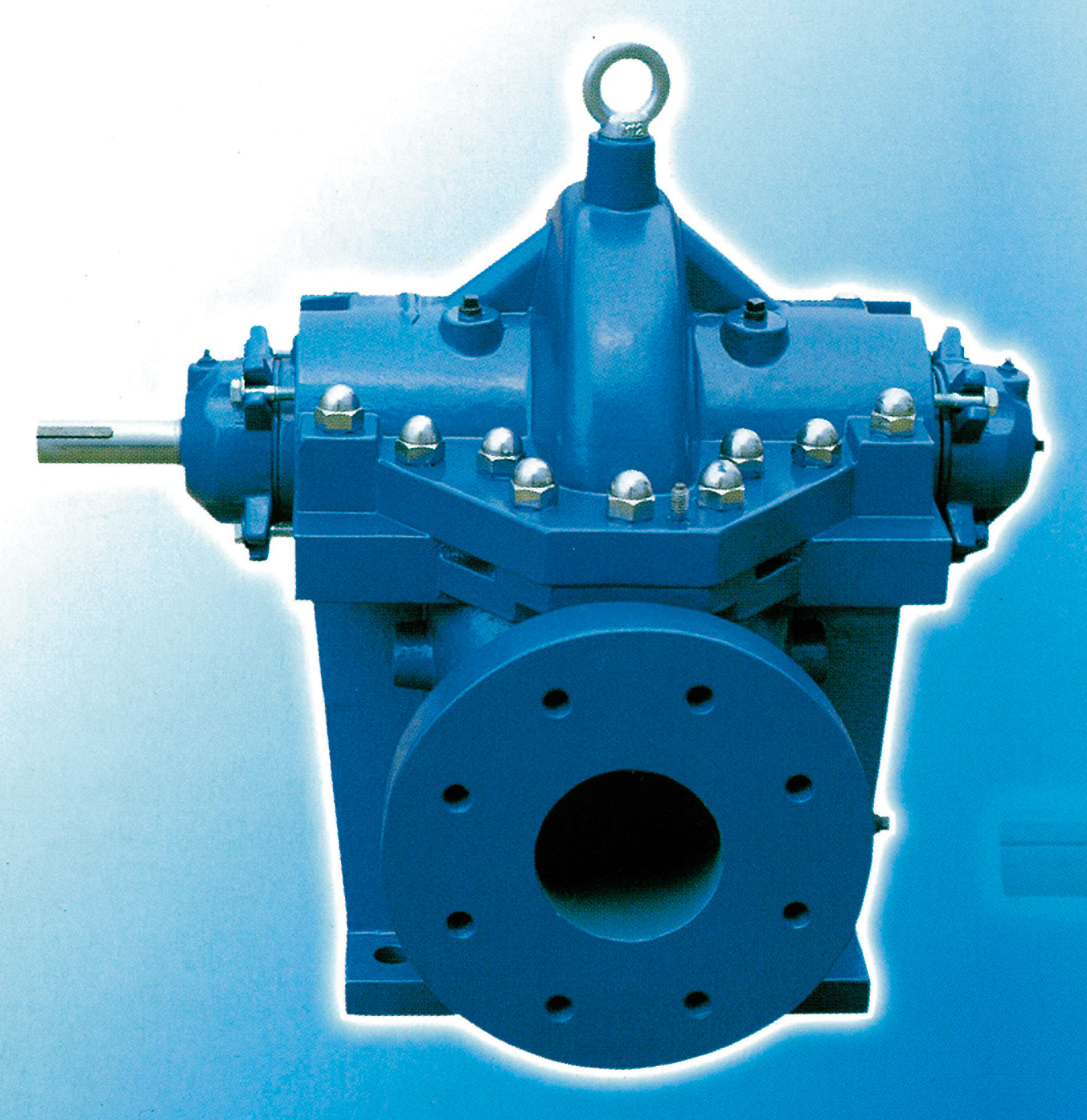 Model DH : Series single stage double suction centrifugal pumps